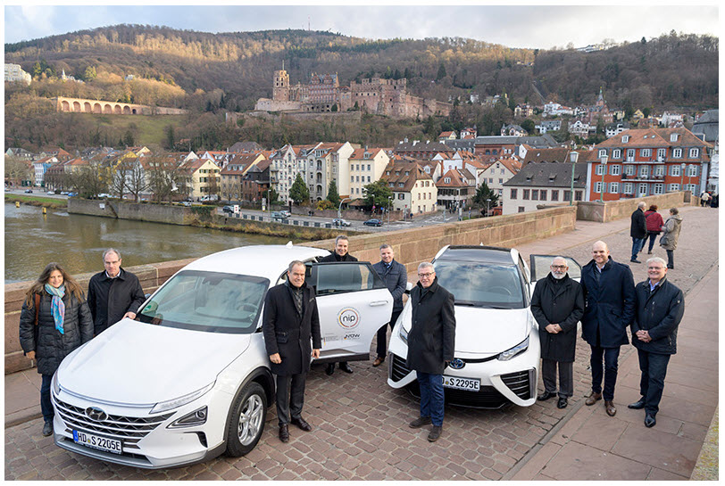 Heidelberg City Council Deploys Two Fuel Cell Vehicles 12 17 2018