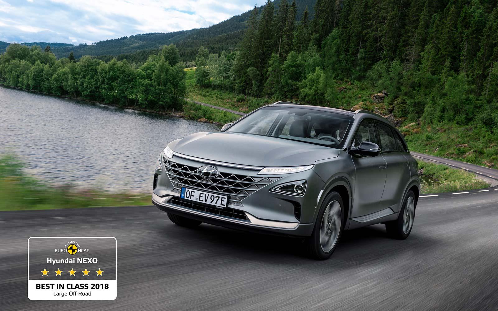 Hyundai NEXO Best in Class 2018