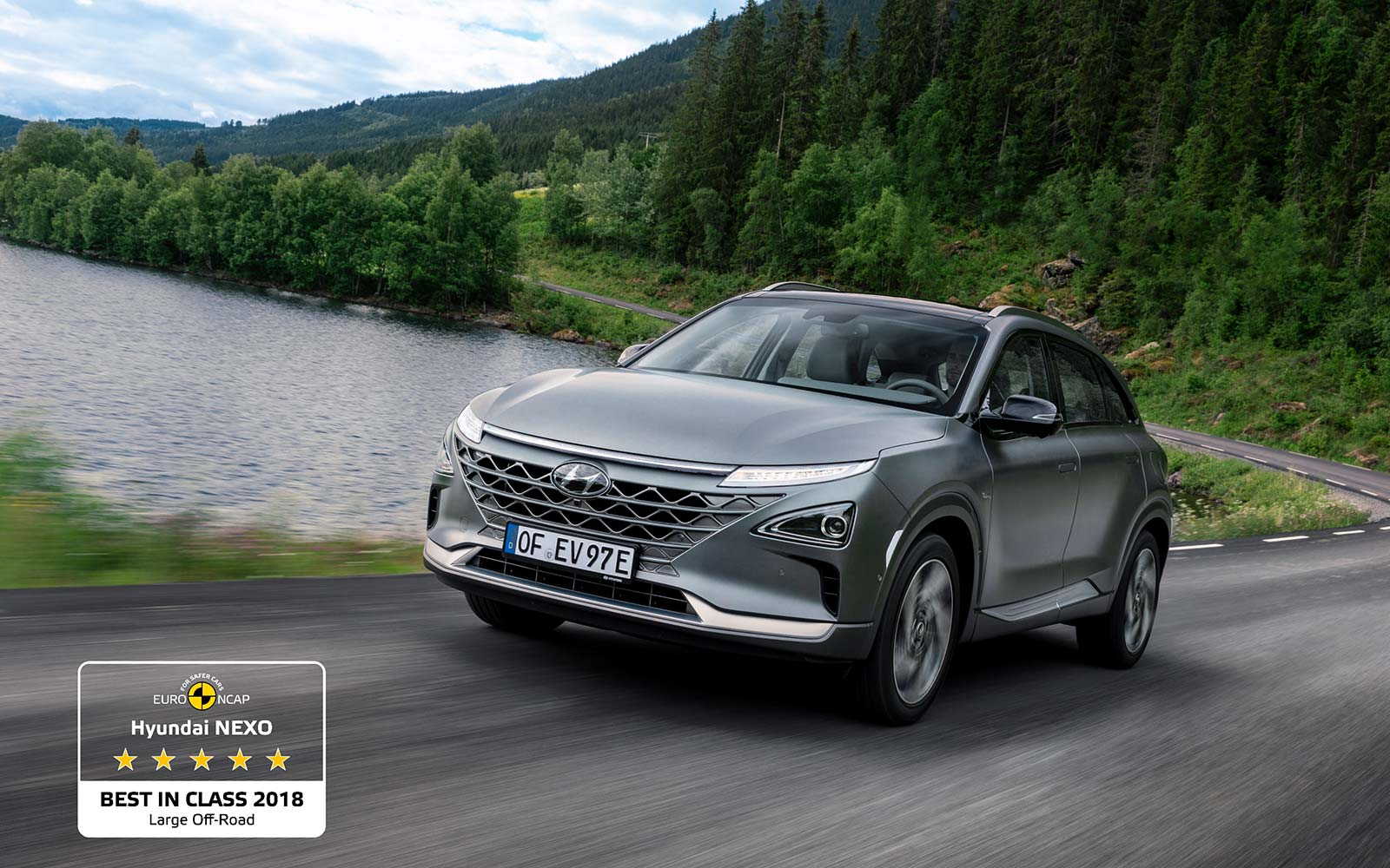 Hyundai NEXO Best in Class 20181