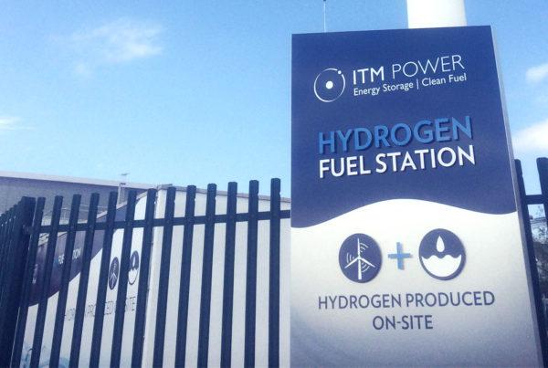 ITM Power M1 Wind Hydrogen Refuelling Station