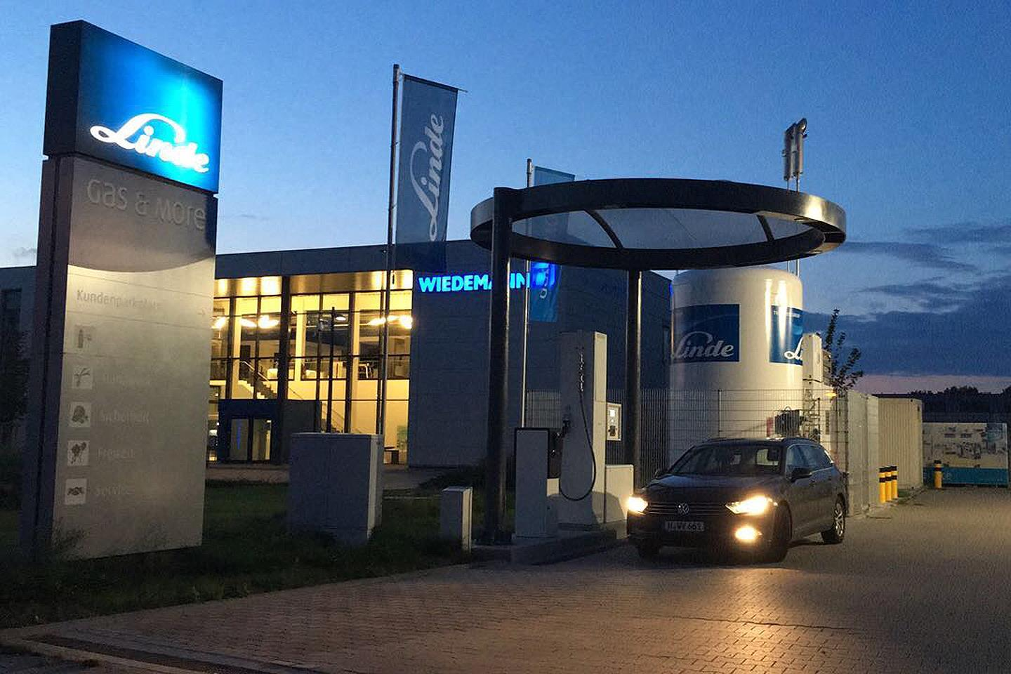Linde Opens new Hydrogen Staion in Hannover1