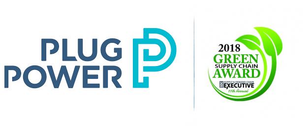 Plug Power Award 2018