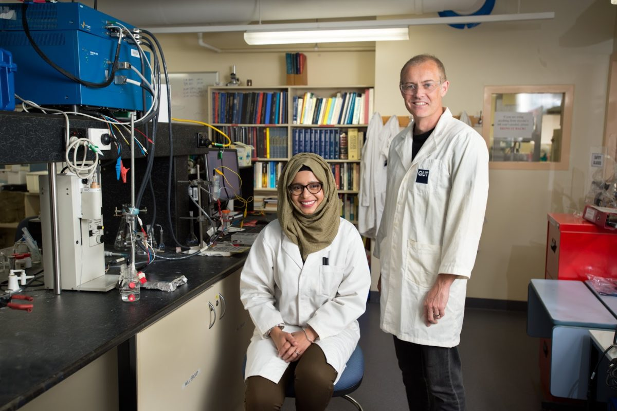 QUT Cheaper Catalysts for Hydrogen Production