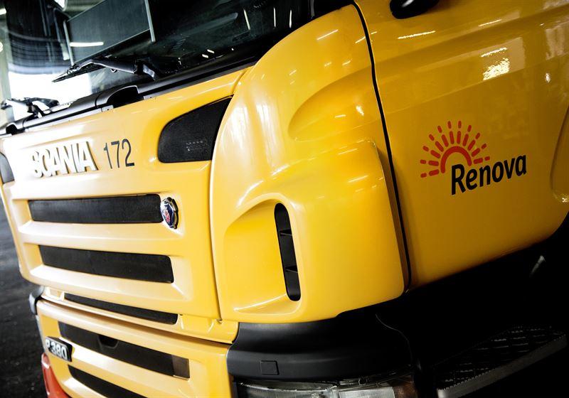 Renova Scania Fuel Cell Truck