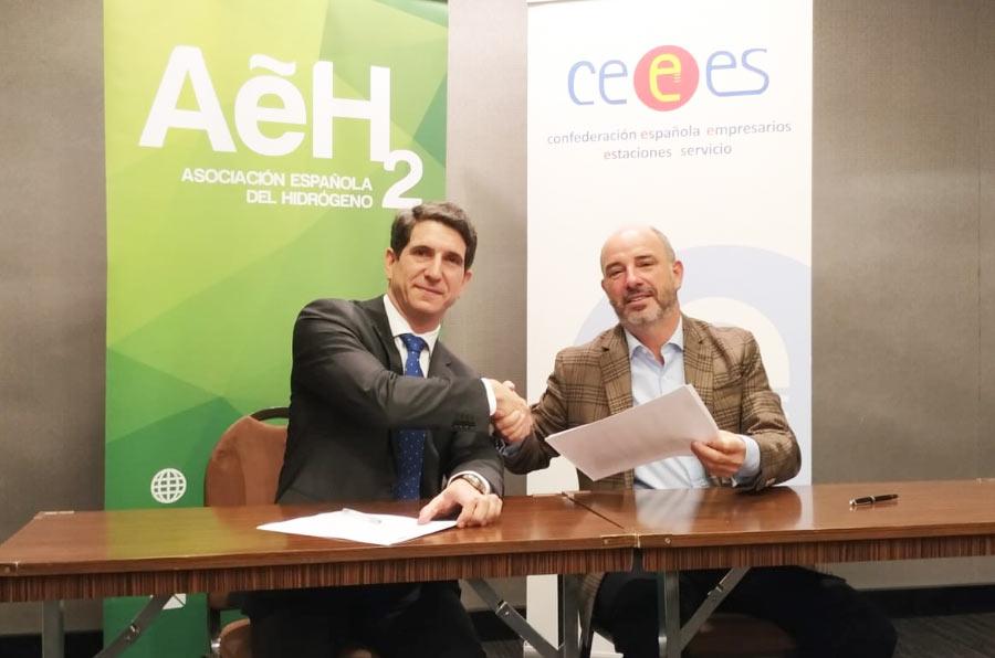 Cooperation agreement between AeH2 CEEES