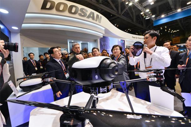 Doosan Drone Unveiling