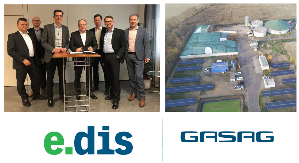 EDIS GASAG Green Hydrogen Project