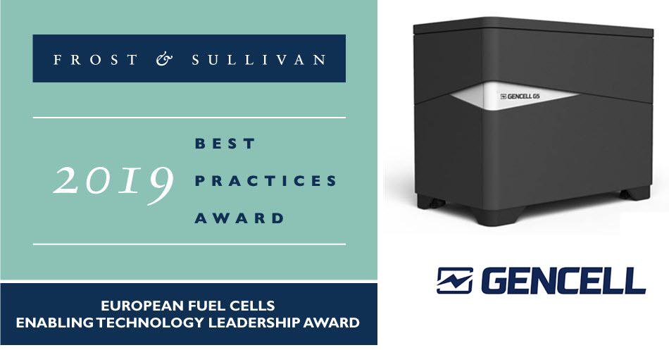 GenCell Award from FrostSullivan