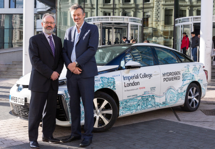 Imperial College Receives Toyota Mirai
