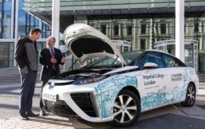 Imperial College Receives Toyota Mirai1