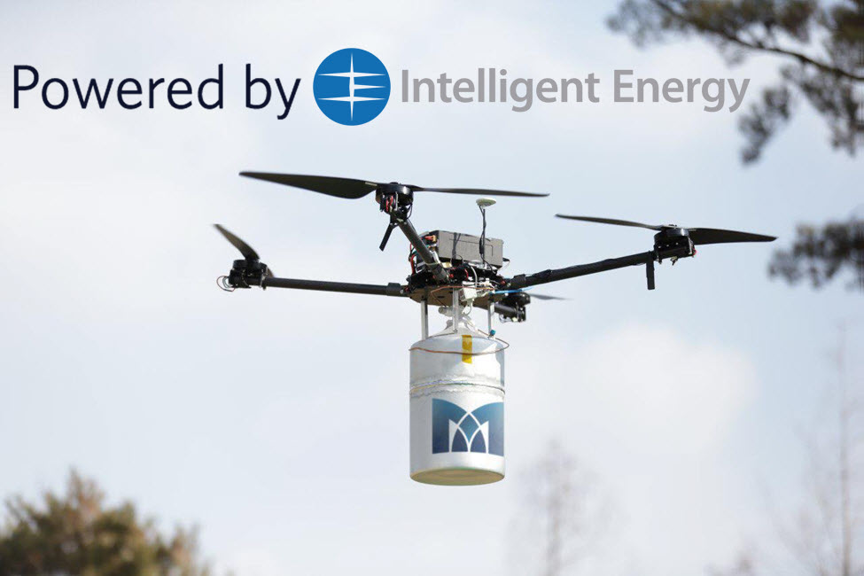 Intelligent Energy Drone Record