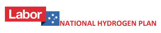 Labor National Hydrogen Plan Banner