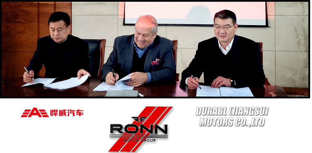 Ronn Motors 3 way JV 2