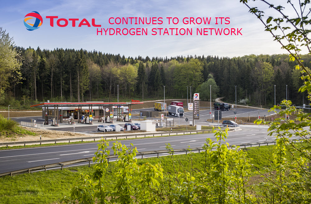 Total Continues to Grow its Hydrogen Network