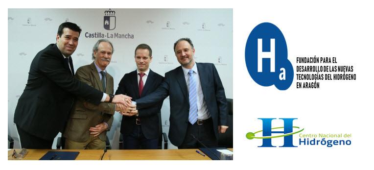 Aragon Hydrogen Foundation and the National Hydrogen Center Sign a Collaborative Framework Agreement