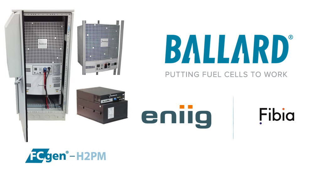 Ballard Sales of BUP Fuel Cells to Eniig and Fibia