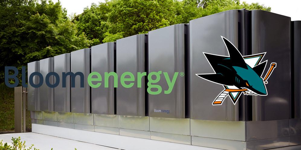 Bloom Energy and San Jose Sharks Hockey Team