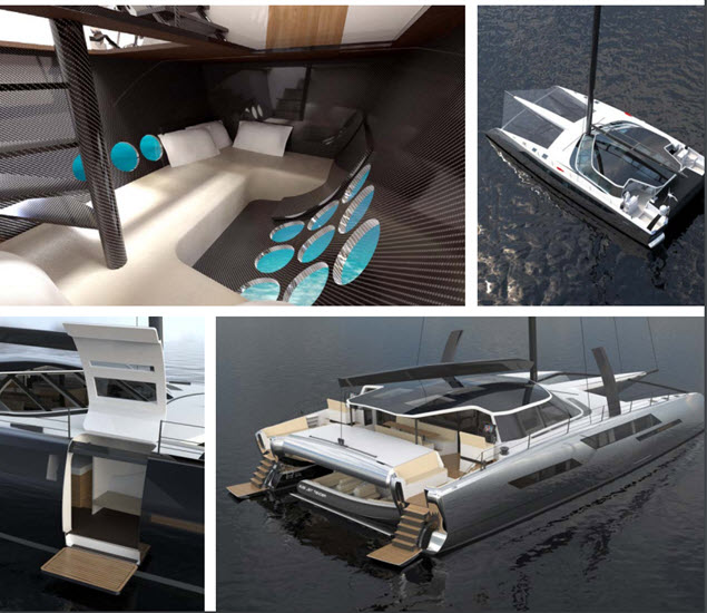 Daedalus Yacht Features