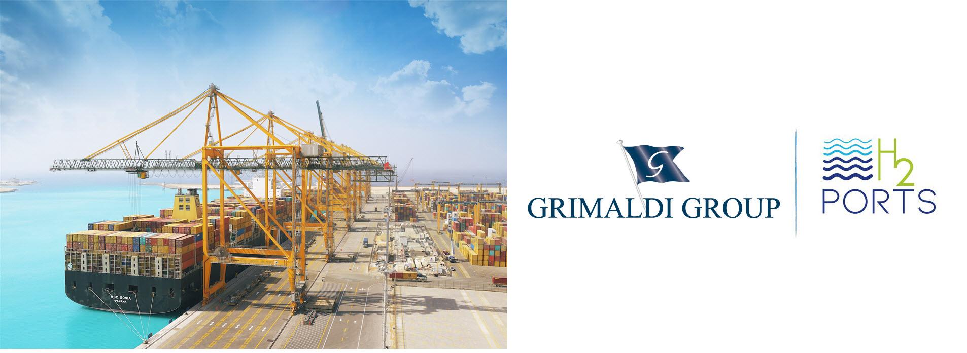 Grimaldi Group Joins H2Ports