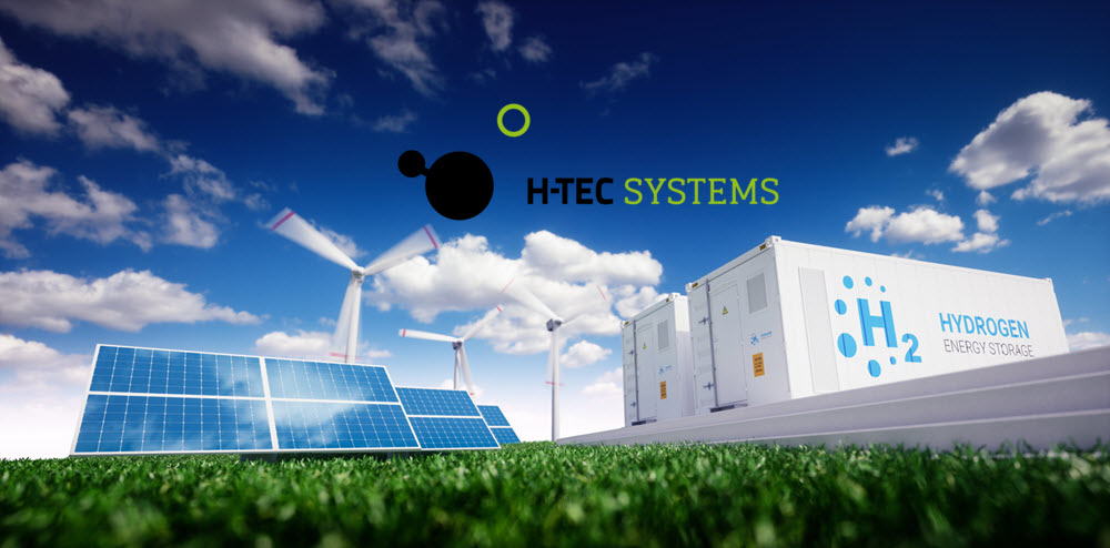 fuel cells works, h-tec systems, hydrogen, wind energy