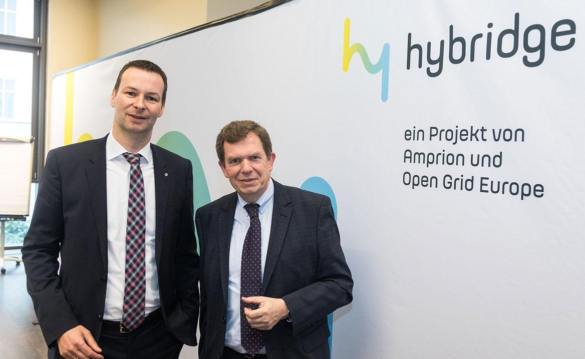 Hybridge Gas Project Amprion Open Grid Europe