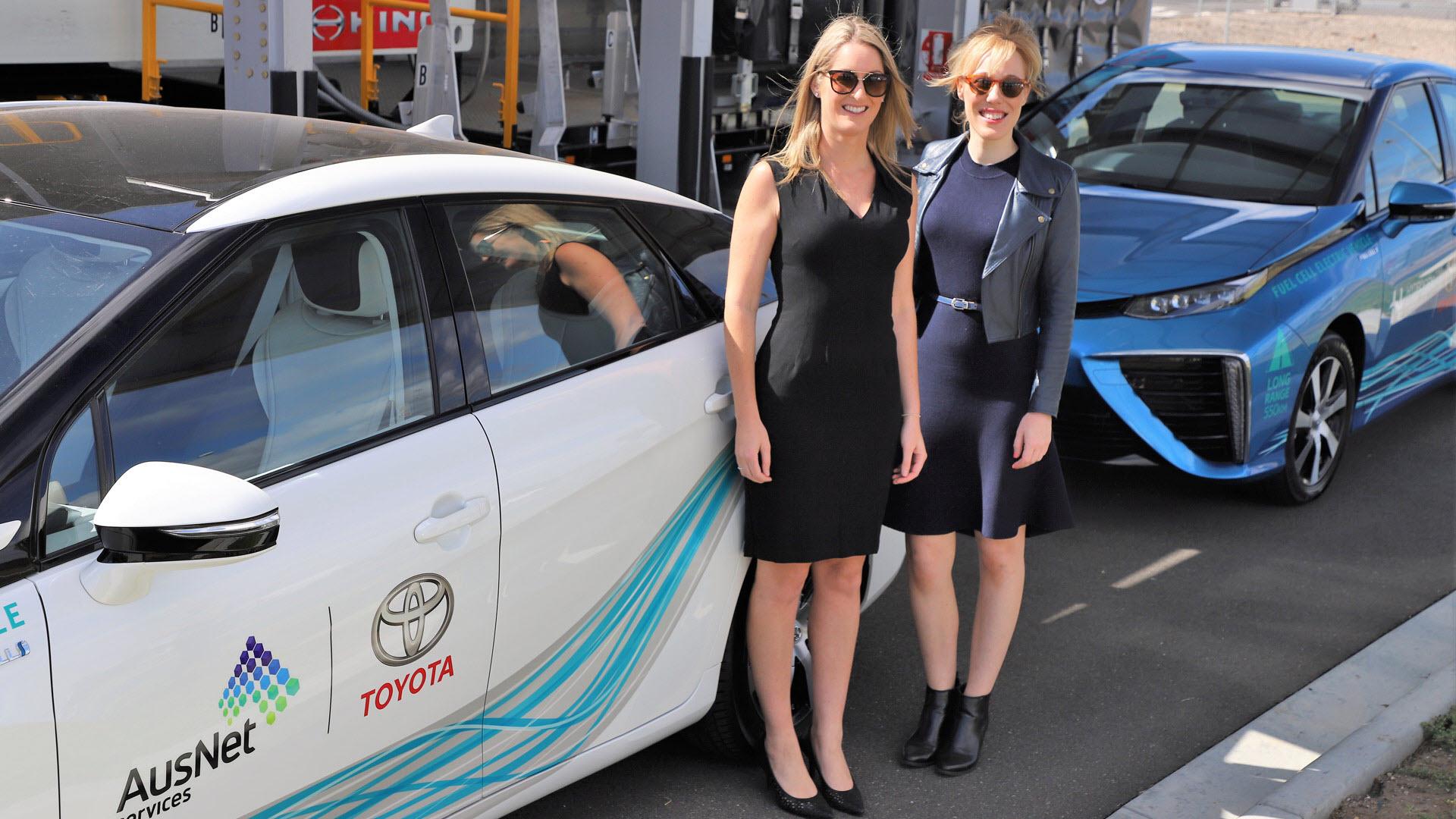 Hydrogen Mobility Toyota