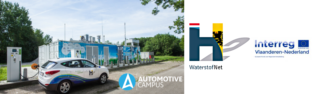 Hydrogen Station in Automotive Campus Waterstof Helmond1