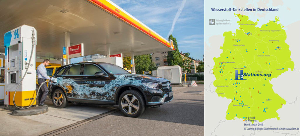 Germany Once Again had the Highest Increase of Hydrogen Refuelling Stations Worldwide in 2018