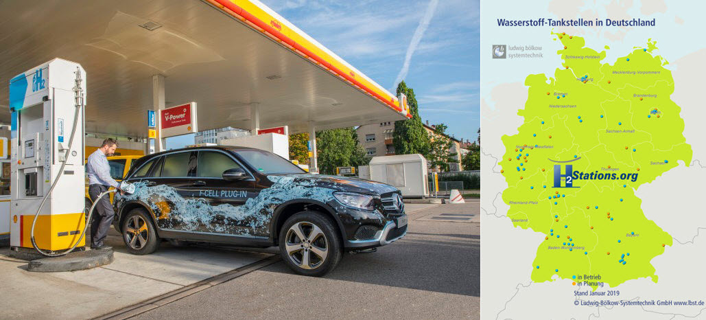 Hydrogen Stations in Germany