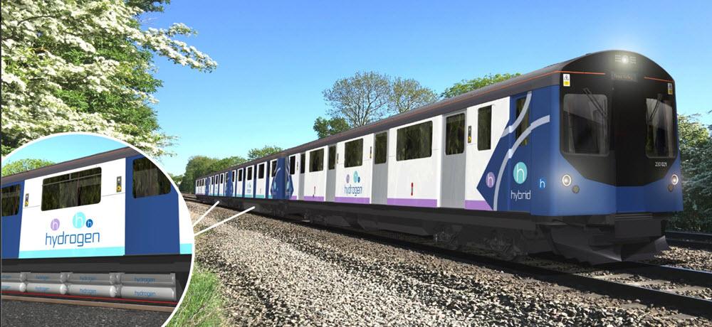 Vivarail Hydrogen Fuel Cell Train