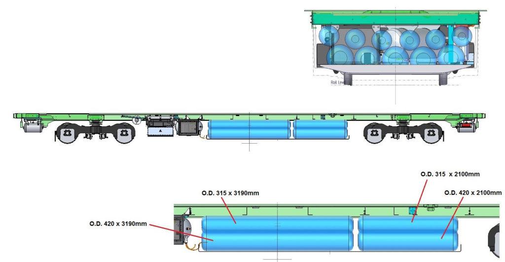 Vivarail Hydrogen Fuel Cell Train3