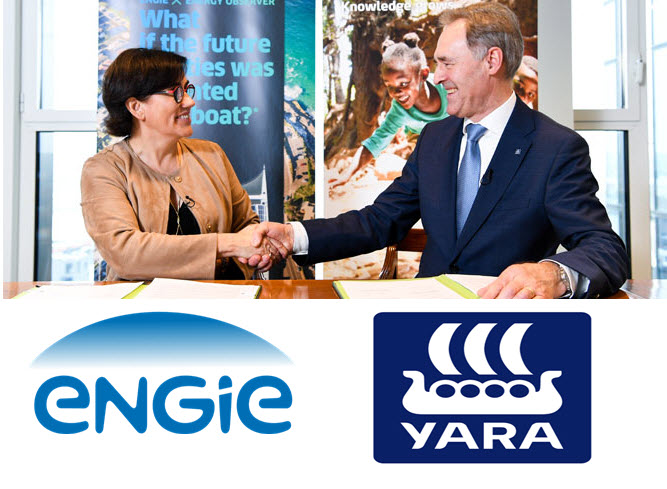 ENGIE and YARA Take Green Hydrogen into the Factory