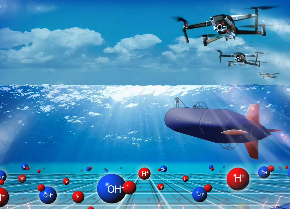 fuel cell submarines and drones