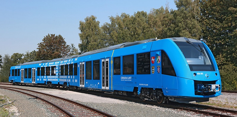 iLint Hydrogen Train by Alstom