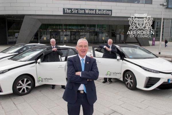 Aberdeen Fuel Cell Car