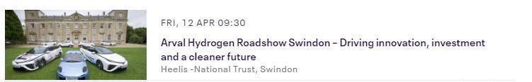 Arval Hydrogen Roadshow Swindon