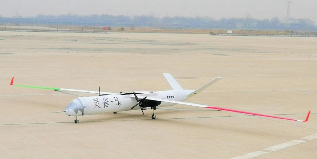 China UAV Hydrogen Fuel Cell Testing 1