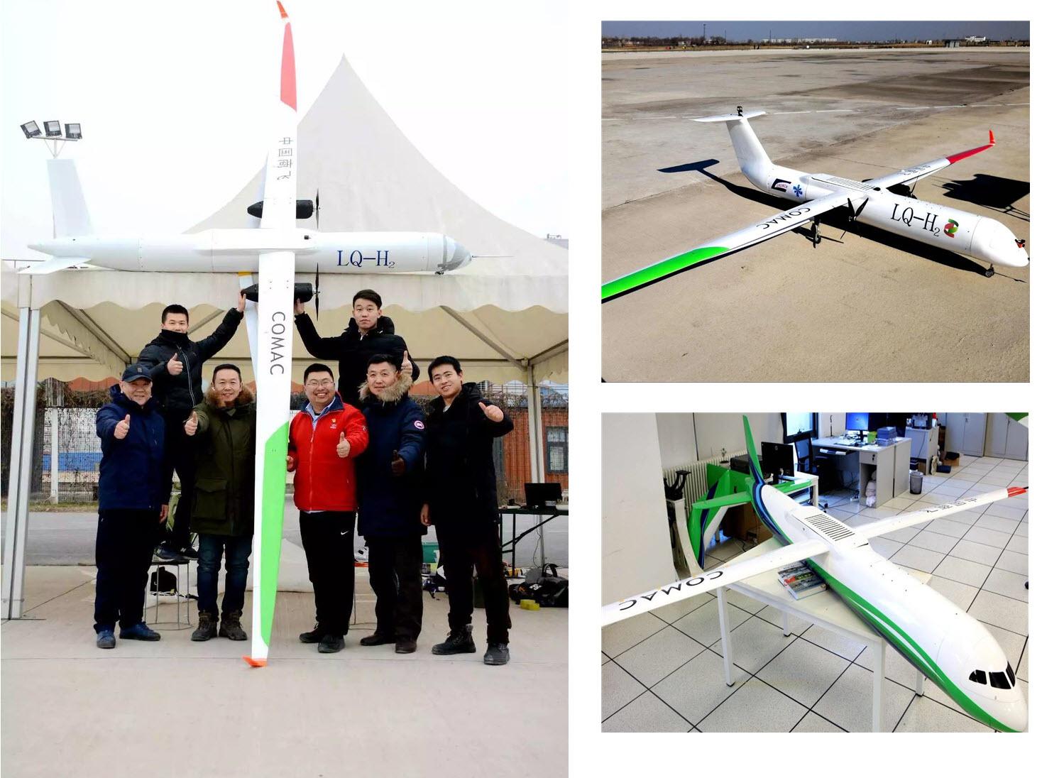 China UAV Hydrogen Fuel Cell Testing Main
