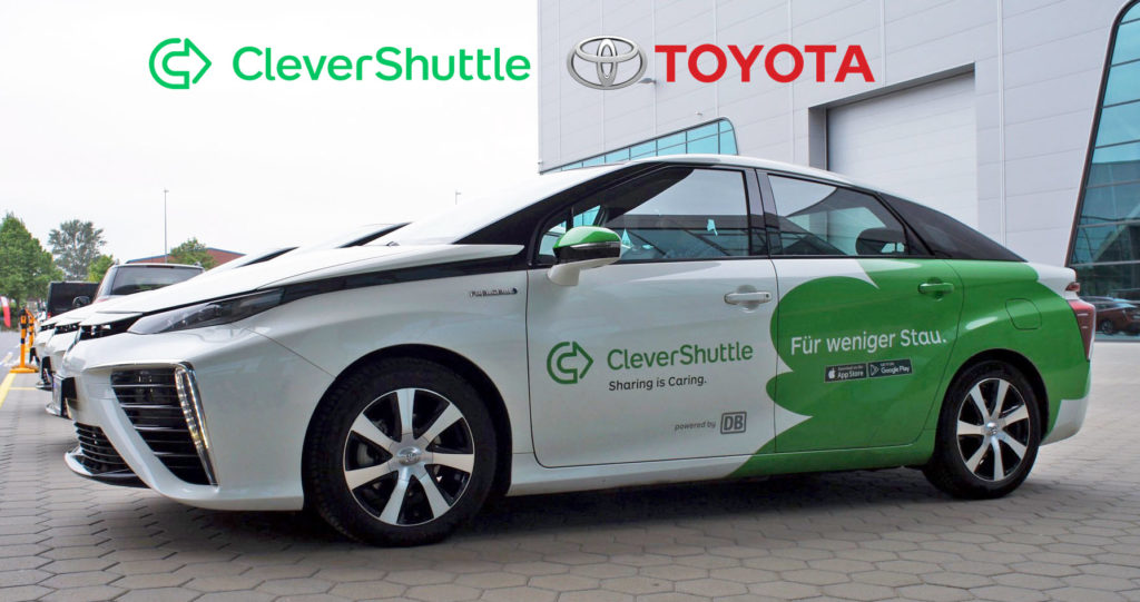 CleverShuttle and Toyota Milestone Main