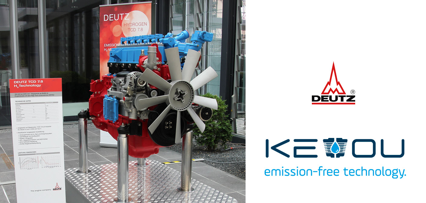 Deutz Hydrogen Engine