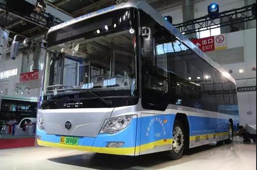Foton Fuel Cell Bus Version 2018