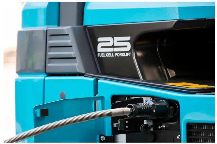 Hydrogen Drives Clean Forklifts - FuelCellsWorks