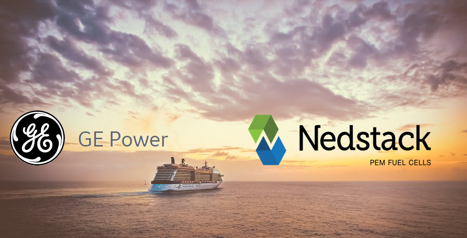 GE and Nedstack Partnership Sets Sights on Zero Emission Hydrogen Fuel Cell Powered Cruise Vessels