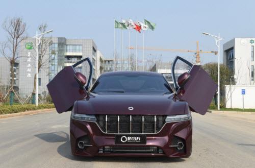 Grove Automotive Fuel Cell Car2