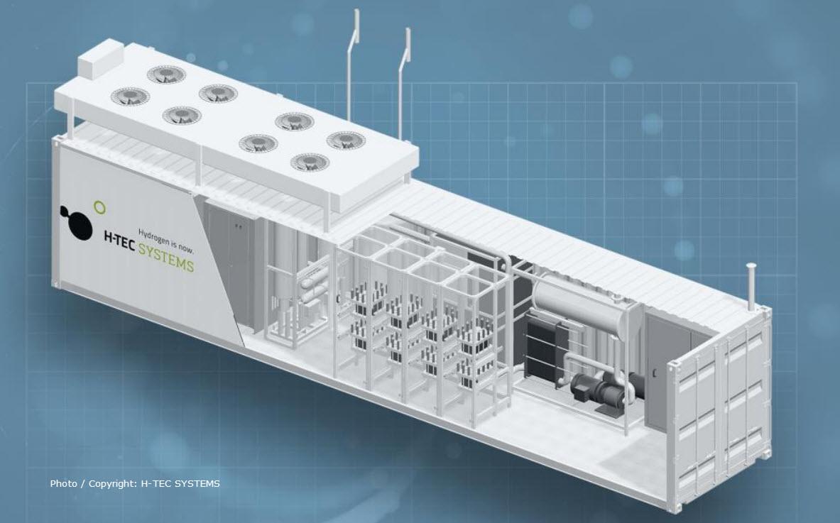 H Tec ME 450 1400 PEM Electrolyzer1