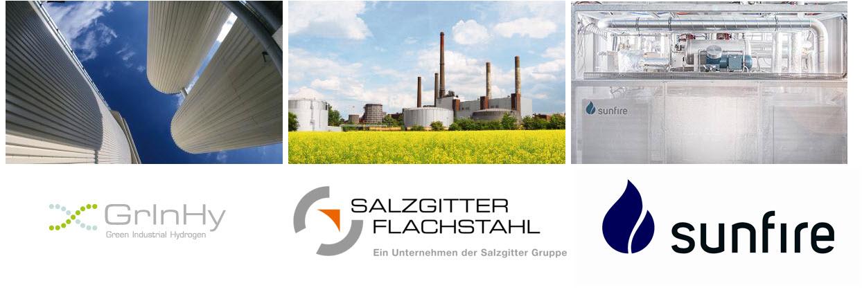 Hydrogen for Steel Making GrlnHy
