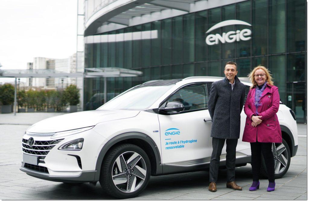 Hyundai Nexo Delivery to Engie 1