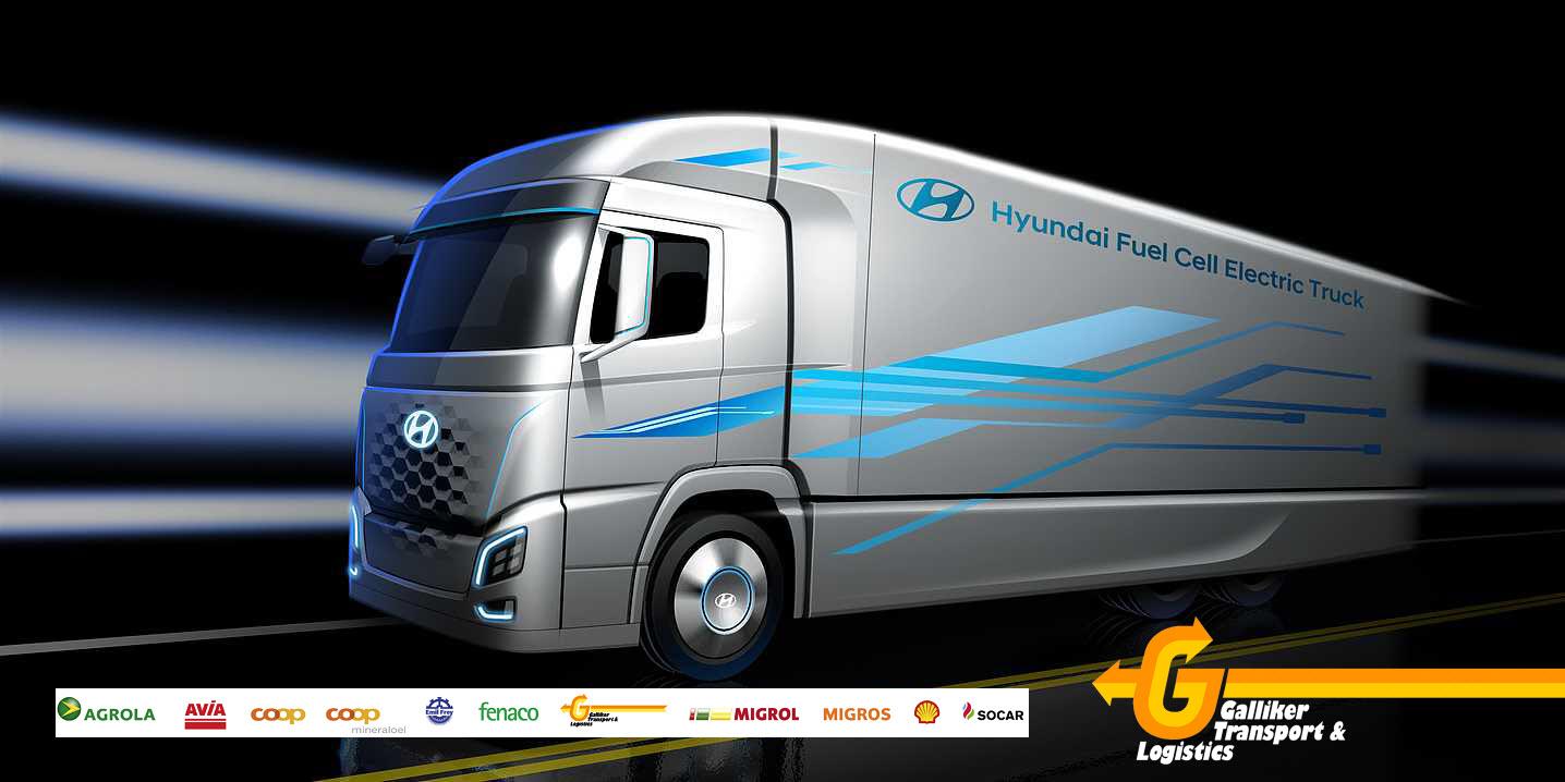 Hyundai FCEV Cargo Truck H2 Mobility Switzerland Association