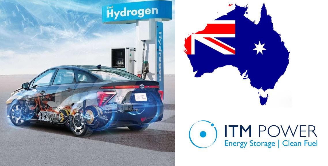 ITM Power Australia Order