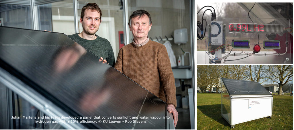 Looking past the Hype: KU Leuven Researchers Shed More Light on their Hydrogen Panel